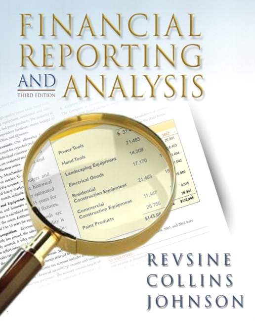 Revsine, Collins & Johnson, Financial Reporting and ...