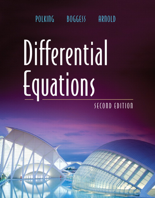 Differential Equation Book Pdf