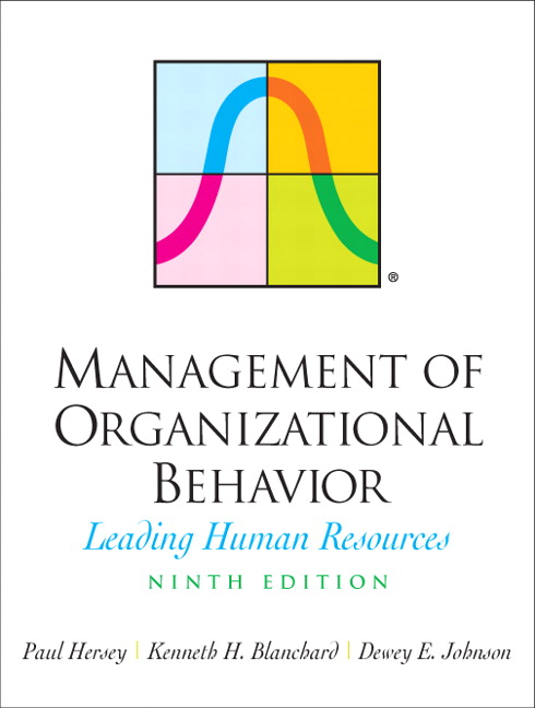 Hersey, Blanchard & Johnson, Management of Organizational Behavior
