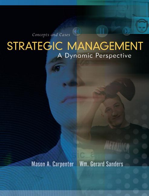 Strategic management carpenter pdf