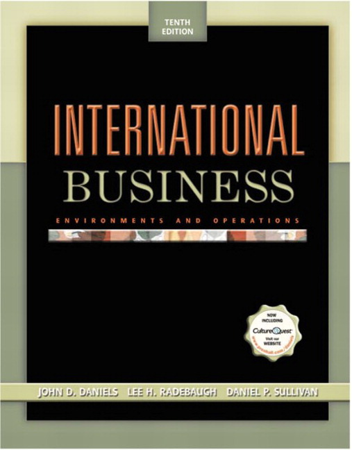 Daniels radebaugh sullivan international business environments book cover fandeluxe Image collections