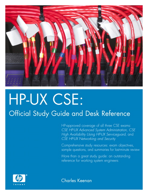 Keenan, HP-UX CSE: Official Study Guide and Desk Reference