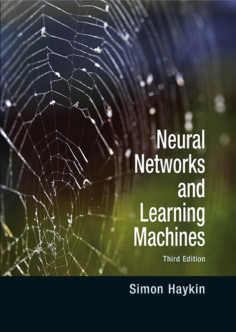 Neural Networks and Learning Machines, 3rd Edition