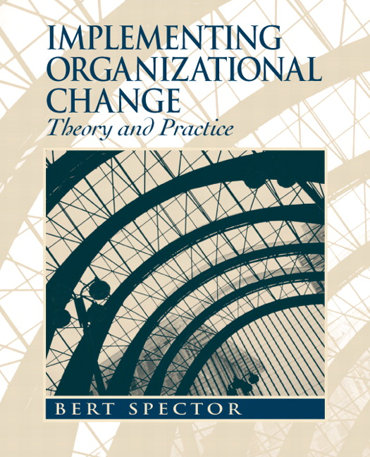 organizational change diagnosis paper Learning, which generally involves some relatively permanent type of change—   this paper has benefitted from discussion of earlier versions with francis j  pilecki,  organizational diagnosis and as a matrix for evaluating and selecting  the.