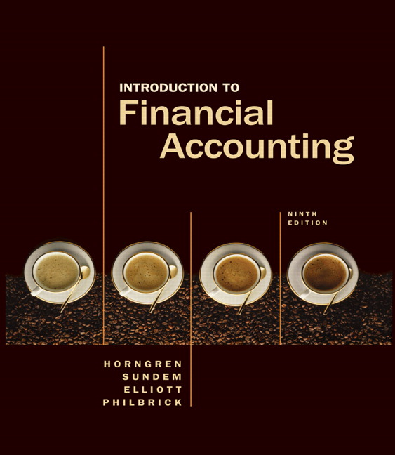 """accounting horngren 9th edition This is the solution manual for accounting, 9th edition, by charles t horngren, walter t harrison, jr m suzanne oliver the trusted choice for """"i get it"""" moments."""