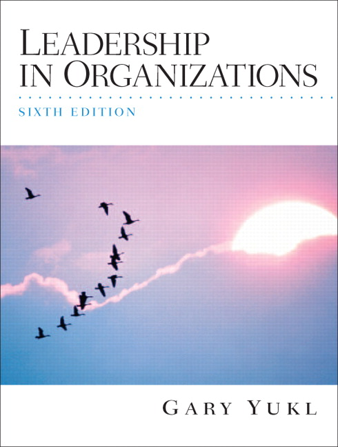 leadership in organizations yukl Previous article in issue: managing the older worker: how to prepare for the new organizational order by peter cappelli and bill novelli previous article in issue: managing the older worker: how to prepare for the new organizational order by peter cappelli and bill novelli next article in issue.