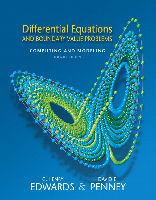 Edwards, Penney, Calvis & Calvis, Differential Equations and