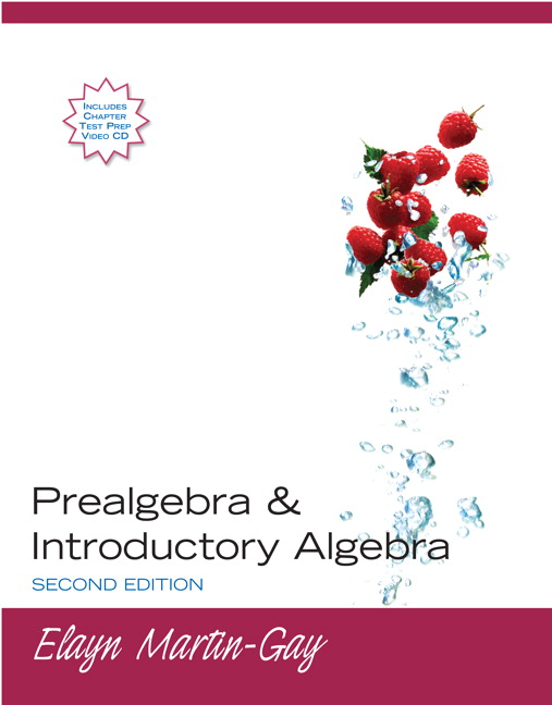 Martin gay prealgebra introductory algebra pearson prealgebra introductory algebra 2nd edition fandeluxe Gallery