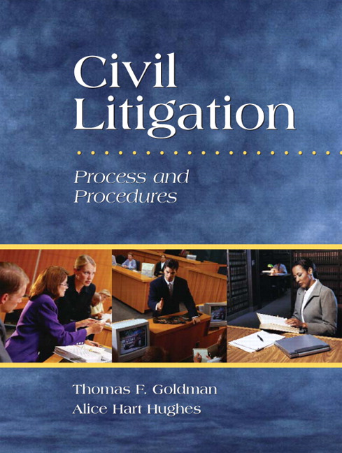 civil litigation process essays Civil remedies victims of crime often suffer great physical, psychological and financial losses, and they are increasingly looking to the civil justice system for reparations the tangible costs of crime to victims, such as medical expenses, mental health counseling, and lost productivity.