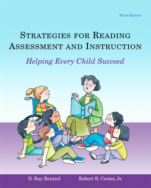 Reutzel Cooter Strategies For Reading Assessment And Instruction