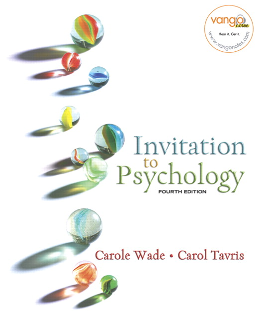 Wade tavris invitation to psychology pearson invitation to psychology stopboris Image collections