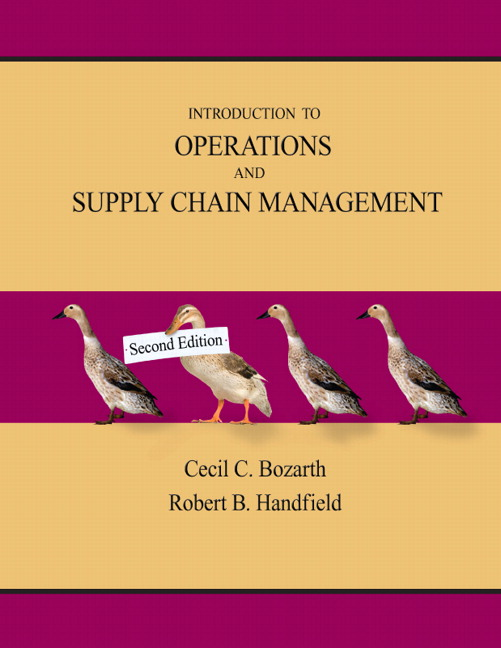 Bozarth & Handfield, Introduction to Operations and Supply