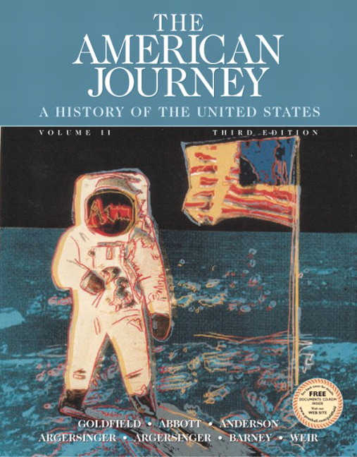 textbook analysis the american journey Use our comprehensive online textbook course to follow along in your glencoe us history - the american vision textbook the short video and text.