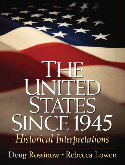 historical events since 1945 King's college department of history united states since 1945  this site offers information on historical events from the beginning of the century to the 1990's .