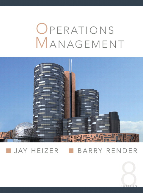 Heizer Render Operations Management 9th Edition Pearson