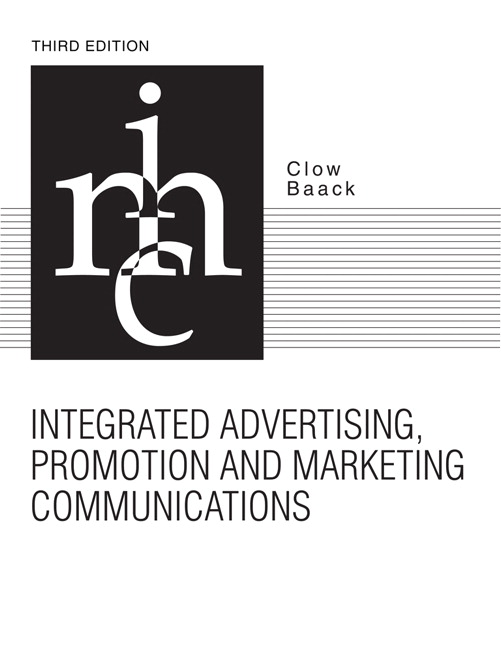 Clow baack integrated advertising promotion and marketing integrated advertising promotion and marketing communications fandeluxe Images