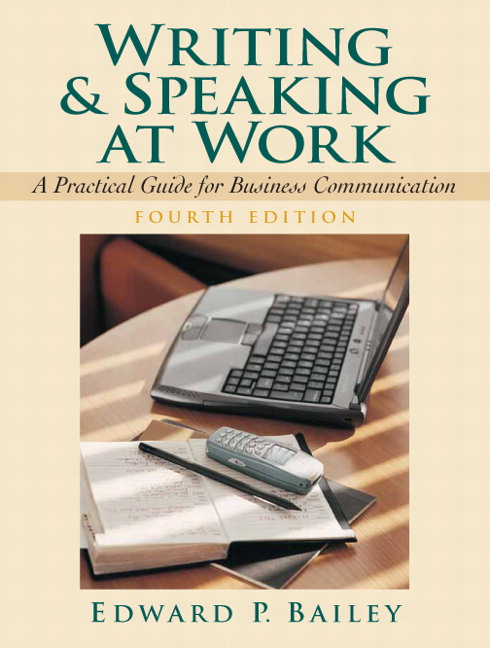 Bailey academic writing 4th edition