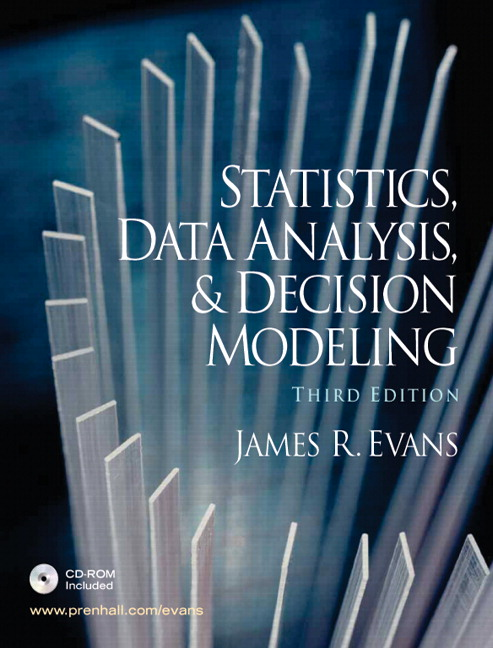 Evans & Evans, Business Analytics, 2nd Edition | Pearson
