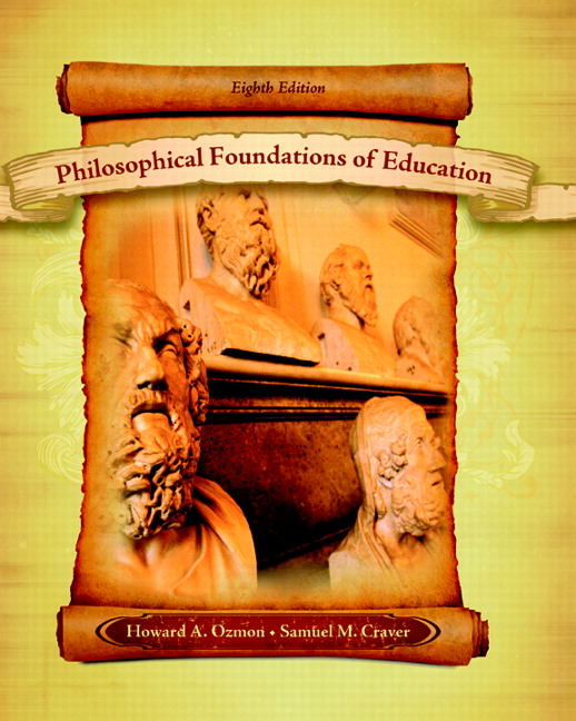 philosophical foundation of education As a philosopher of education, i aim to help students cultivate the dispositions, habits of mind, and skills of critical reasoning that will enable them to confront, analyze, and.