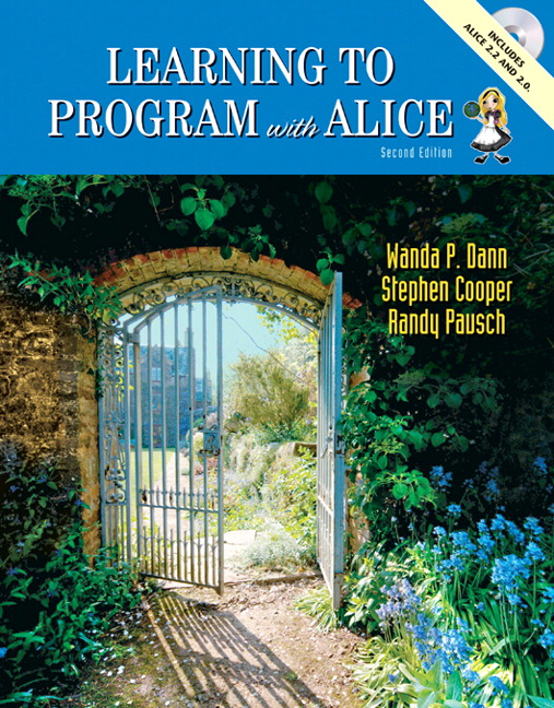learning to program with alice 3rd edition pdf