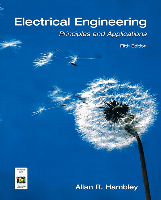 Hambley, Electrical Engineering: Principles & Applications
