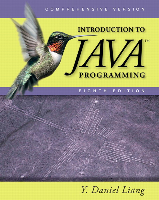 liang introduction to java programming comprehensive pearson rh pearson com Sample Instructor Manual Procedure Manual