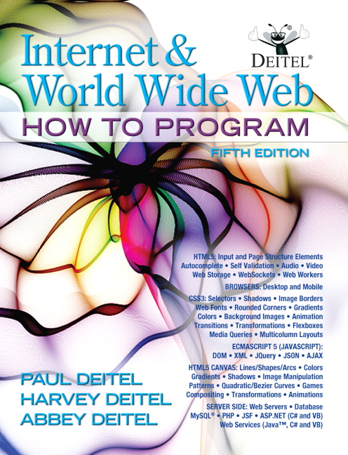 Internet and World Wide Web How To Program, 5th Edition