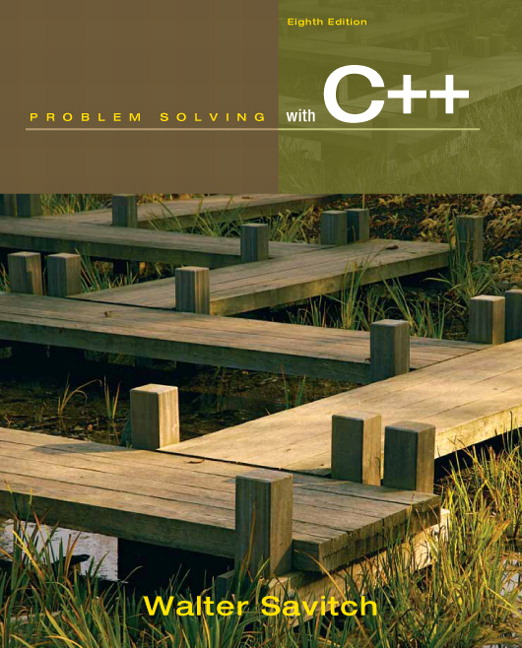 walter savitch problem solving with c++ 9th edition