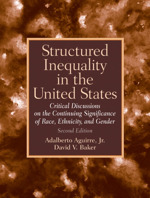 Aguirre Baker Structured Inequality In The United States