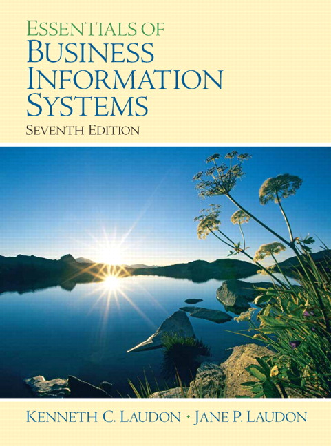 Laudon laudon essentials of business information systems pearson view larger fandeluxe Images