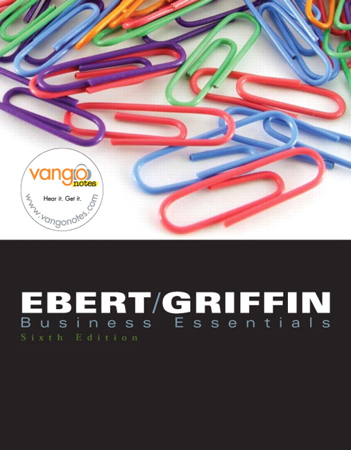 Ebert griffin business essentials pearson business essentials 6th edition ebert griffin fandeluxe Choice Image