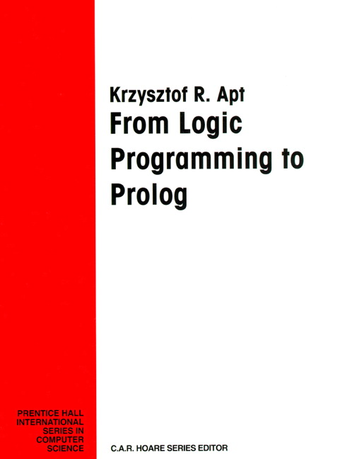 From Logic Programming To Prolog