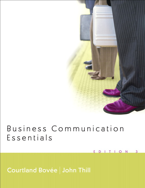 7 essentials of business communication 02102013 essentials of business communication, 9th edition essentials of business communication provides a four-in-one learning package: authoritative text.