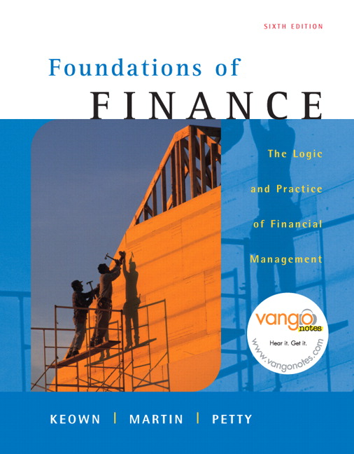 foundations of finance an introduction This introduction to finance provides a conceptual understanding of the financial decision-making process - rather than just an introduction to the tools and techniques of finance - and focuses on the interrelationships among the topics covered.
