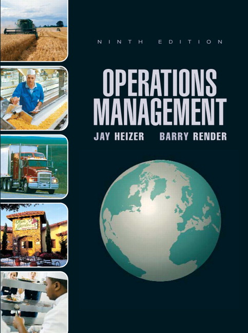 Heizer render operations management pearson operations management 9th edition heizer render fandeluxe Images