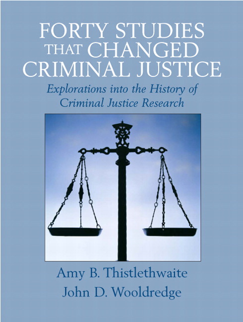 history of criminal justice Criminal justice has been cognizant of the potential for ethical misconduct by criminal justice professionals since the inception of bobbies during sir robert peeles' england anytime people have the power to take away the freedom of others, these people could be susceptible to corruption.