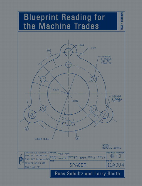 Schultz smith blueprint reading for the machine trades 6th blueprint reading for the machine trades malvernweather Images