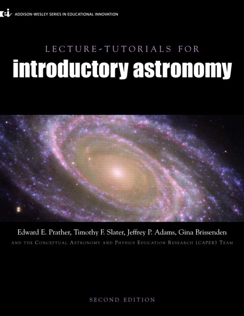 Prather slater adams brissenden caper lecture tutorials for lecture tutorials for introductory astronomy fandeluxe Choice Image
