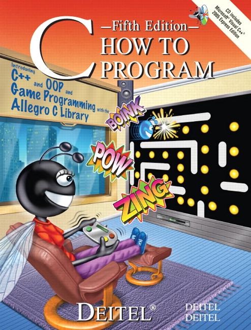 Deitel Amp Deitel C How To Program Pearson