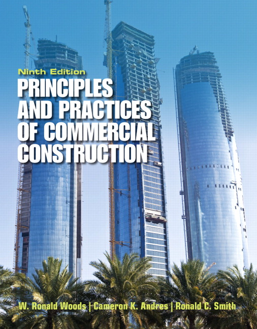 Principles & Practices of Commercial Construction, 9th Edition