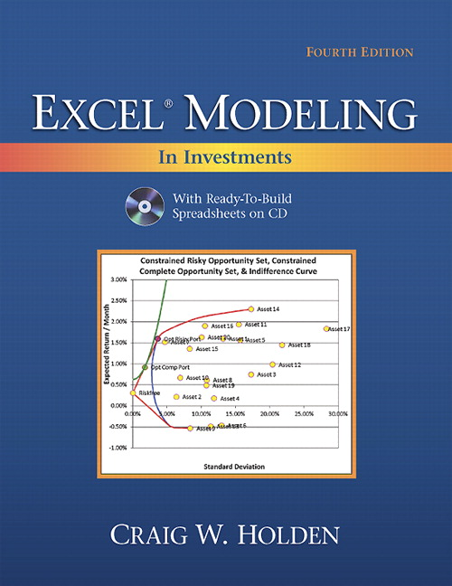Holden excel modeling in investments 5th edition pearson excel modeling in investments 4th edition fandeluxe Images