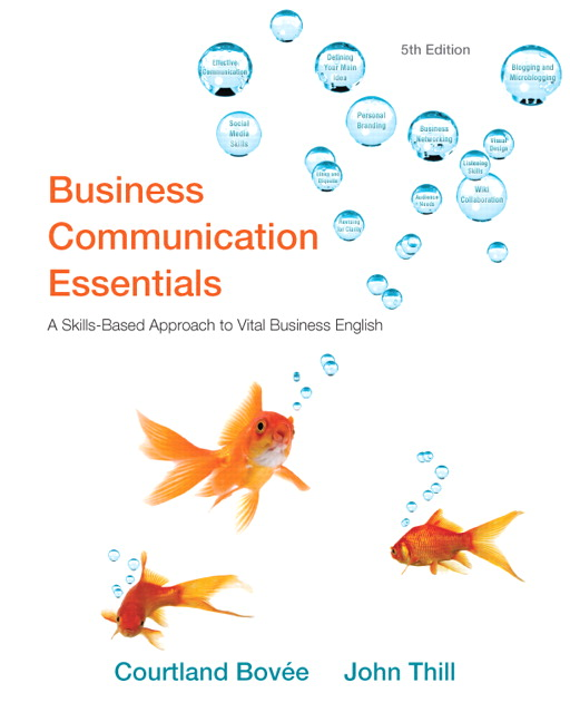 Bovee thill business communication essentials pearson view larger fandeluxe Gallery