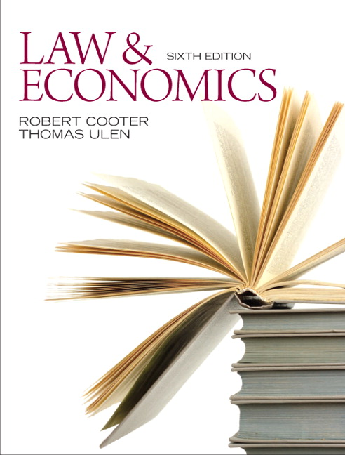 Law and Economics, 6th Edition