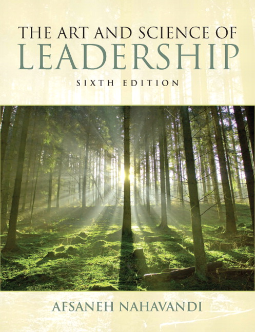 leadership nahavandi Abebookscom: the art and science of leadership (7th edition) (9780133546767) by afsaneh nahavandi and a great selection of similar new, used and collectible books available now at great prices.
