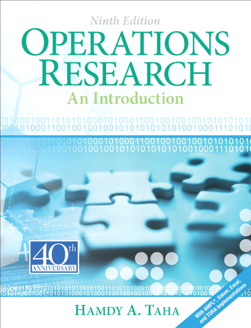 Taha taha operations research an introduction 9th edition pearson operations research an introduction 9th edition fandeluxe