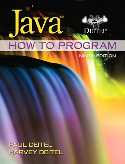 Deitel Deitel Java How To Program Early Objects Pearson