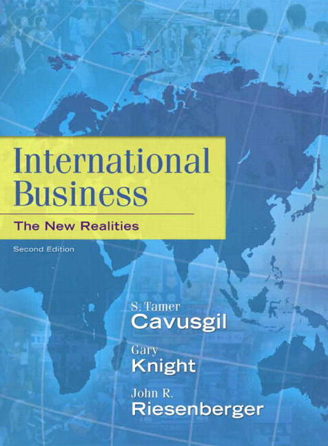 intl business management chapter 2 International business enterprises--management 2 international trade 3   chapter 2 electrolux case study: competing on time alberto f de toni, cinzia .