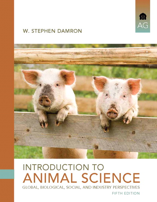 Damron Introduction To Animal Science 5th Edition Pearson