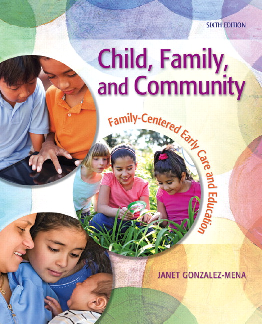 Children Education Book Cover : Gonzalez mena child family and community