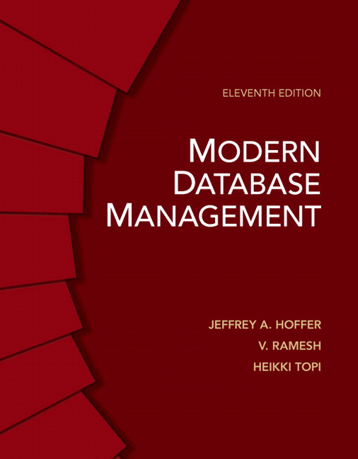 modern database management Brand new please allow 5-7 working days for delivery this item is shipped from our nz warehouse modern database management by hoffer, jeffrey a.